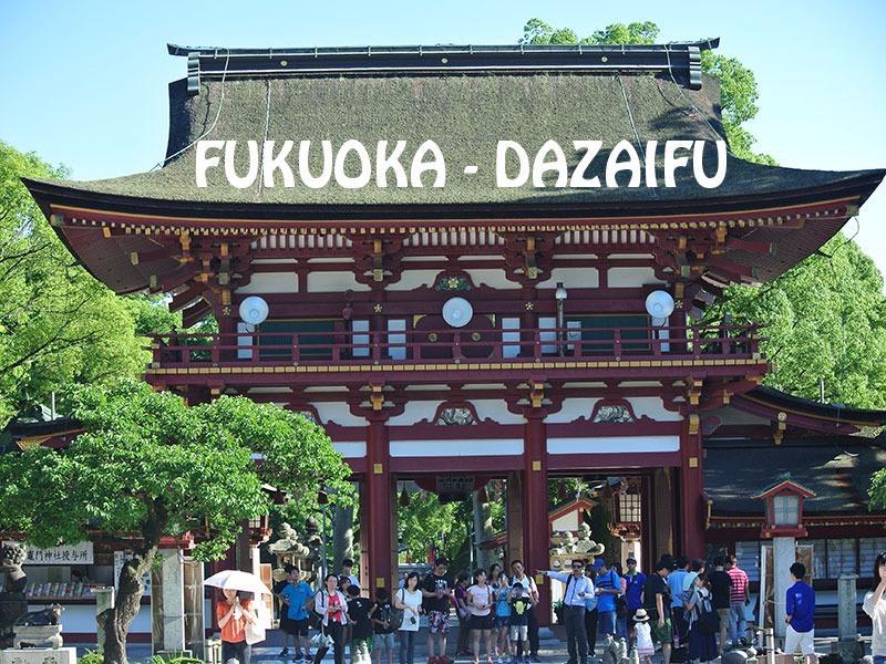 One Day Trip ที่  ดาไซฟุ - ฟุคุโอกะ