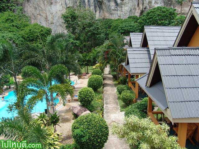 Diamond Cave Resort  วิวทะเล ทั้งในห้องและขณะเล่นน้ำในสระ