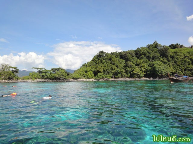 จุดดำน้ำบนเกาะยาง