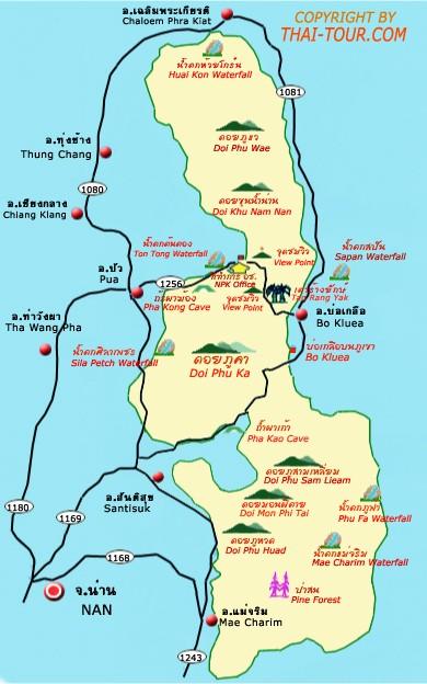 แผนที่ดอยภูคา  http://www.thai-tour.com/thai-tour/north/nan/data/place/phuka/map.htm  ทำไว้เองตั้งนานแล้ว
