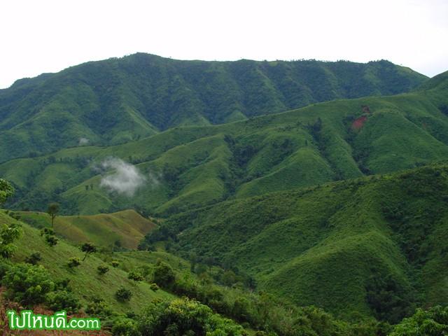 เทือกเขา แห่ง อุทยานแห่งชาติดอยภูคา