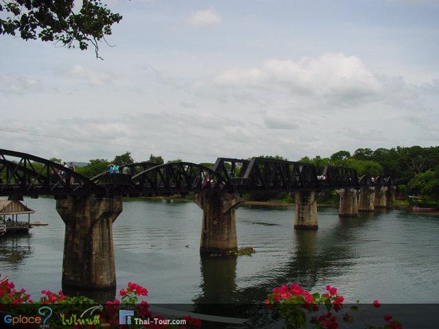 สะพานข้ามแม่น้ำแควในปี 2554