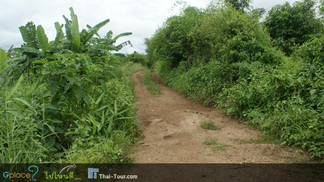 ที่นี่ไง...ทางรถไฟจากกาญฯ ผ่านมาตรงบริเวณนี้ด้วย ในฝั่งพม่า พอจะจินตนาการต่อได้บ้าง
