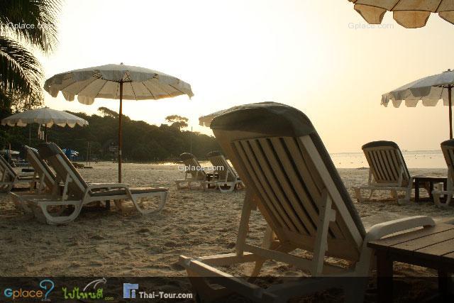 ช่วงเช้าๆของหาดทรายแก้ว