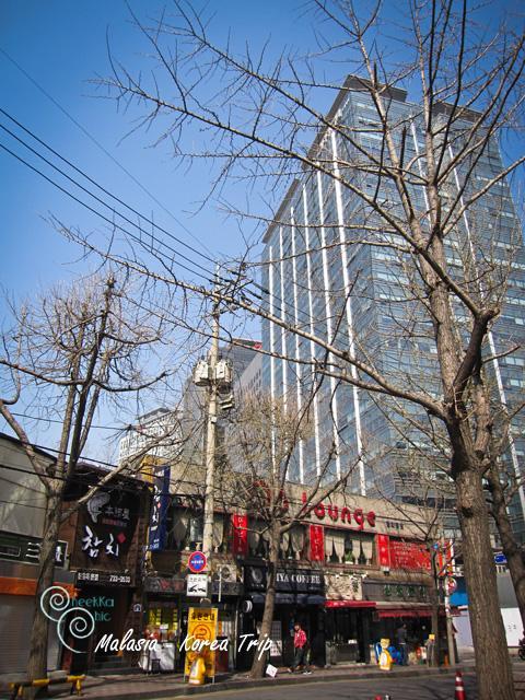 เราก็ลงสถานีใกล้บ้านเหมือนเดิม jongno 3(sam)ga และใช้สาย 5 สายสีม่วงไปลงที่สถานี Gwanghwamun เพื่อขึ้นรถ Seoul city tour รถชมเมืองจะเป็นสองแบบคือ คือ ทัวร์ ดาวน์ทาวน์ สีชมพู (2 ชั่วโมง) และ ทัวร์ พระราชวัง สีฟ้า (1 ชั่วโมง)   สำหรับบัตรฟรีทั้งตั๋วรถไฟ และชมเมืองของ cheekka ต้องเป็นแบบชมเมืองค่ะ  รถทัวร์ชมตัวเมือง จะให้บริการตั้งแต่ 9.00 น.– 21.00 น. ส่วนรถทัวร์ชมพระราชวัง จะให้บริการตั้งแต่ 9.00 น. – 17.00 น. โดยจะออกทุก ๆ 30 นาที บริการรถทัวร์นี้จะหยุดให้บริการในวันจันทร์ เพราะงั้นเพื่อนๆ จะต้องวางแผนดีๆ นะคะ แนะนำให้ออกแต่เช้าดีกว่าค่ะ และห้ามสายนะคะเพราะรถเค้าจะออกตรงเวลามากๆ ค่ะ   ตอน cheekka มาถึงรถเพิ่งออกไปเราจึงต้องรออีกตั้งครึ่ง ชม. แต่ตรงนั้นก็มี duty free ให้ไปชอปกันก่อนได้ค่ะ แล้วก็มีสิ่งสวยๆ งามๆ ที่เก็บบรรยากาศมาได้ค่ะ