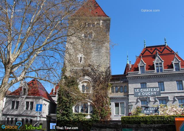 le chateau d' ouchy = โรงแรมสี่ดาว วิวสวย สงสัยจะแพง