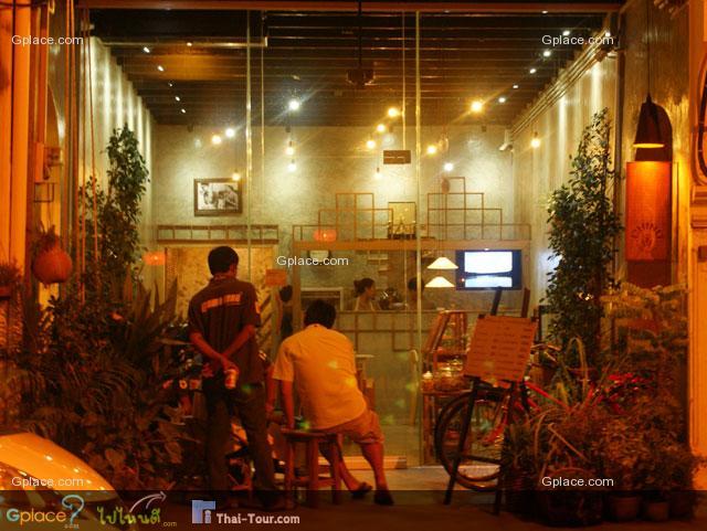 ร้านกาแฟ หัวมุมถนนถลาง
