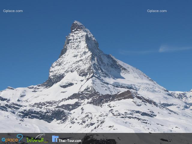 ยิ่งสูงยิ่งสวย...ยอดเขามัทเทอร์ฮอร์น - Matterhorn โลโก้ช็อคโคแล็ตสวิส