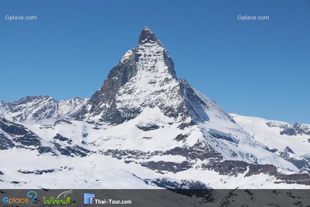 Matterhorn ถ่ายจากด้านบน (จุดชมวิว)