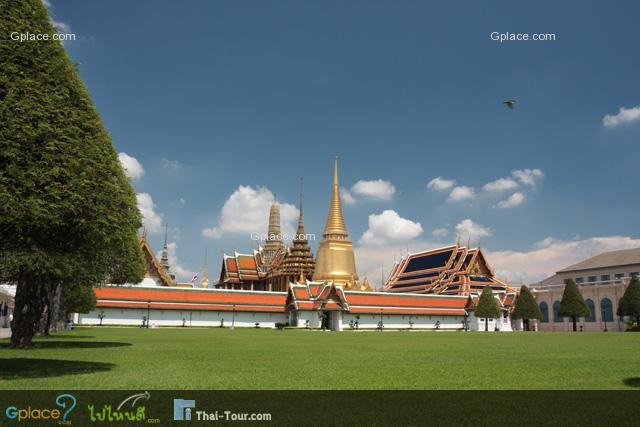 View from Entrance - Wat Phra Kaew