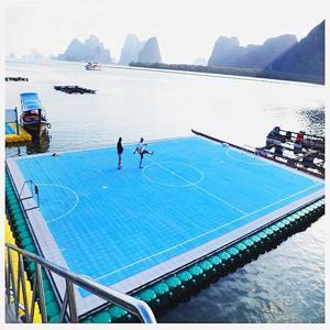 สนามฟุตบอลกลางน้ำ - by chillechacha ❤