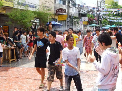ถนนข้าวสารเขตพระนครกรุงเทพมหานคร2556