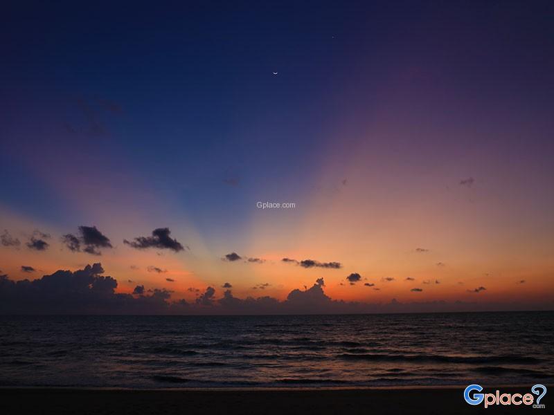 สุดยอดจุดชมวิวตะวันลับขอบฟ้า ทะเลอันดามัน
