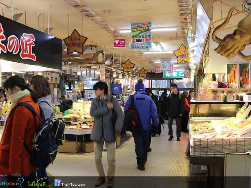 ตลาดเช้าฮาโกดาเตะ