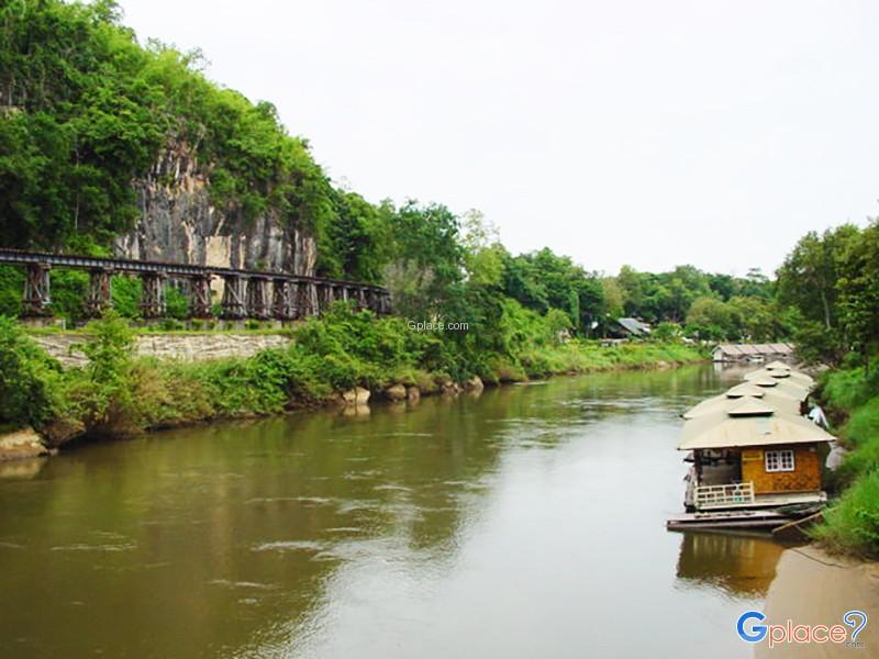 กาญจนบุรี เที่ยวตามกระแสโซเชียล