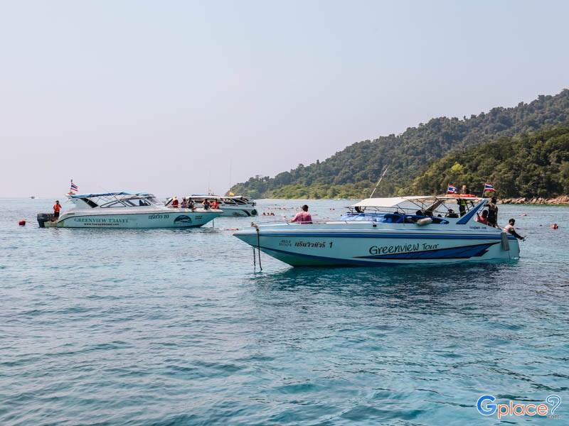 ที่พักใกล้ท่าเรือไปเกาะตาชัย