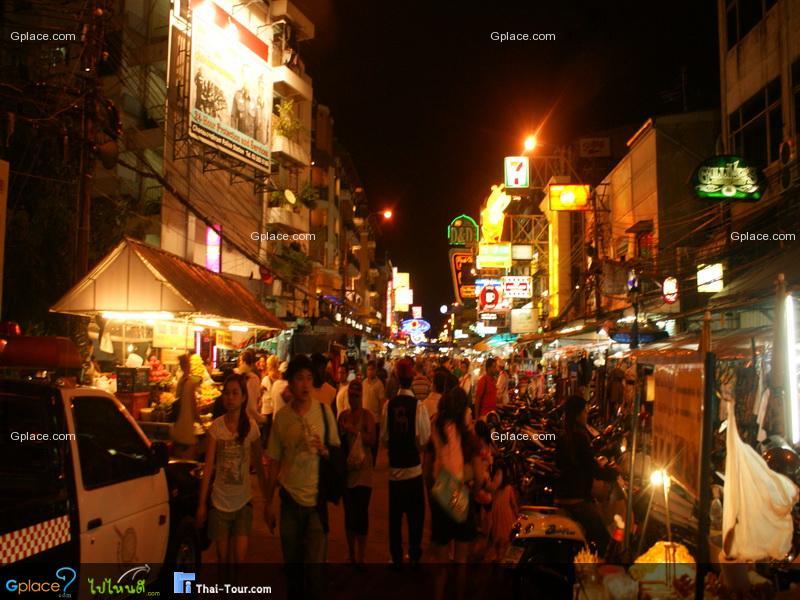 泰国受欢迎的步行街