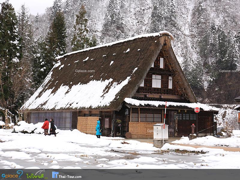 หมู่บ้านซุงานุมะ กัชโชสึคุริ  Suganuma Gassho Shuraku
