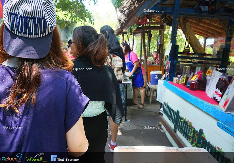 曼谷附近的市场