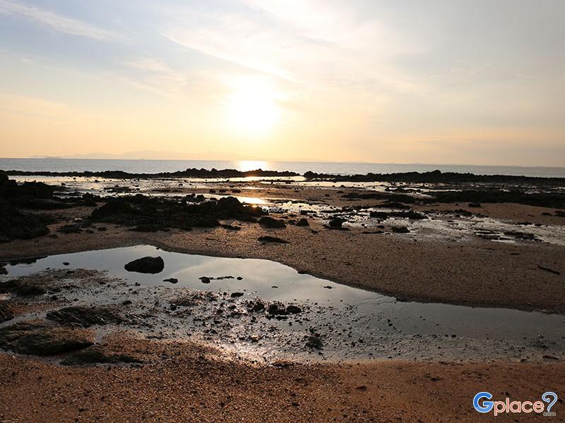 风景秀丽的西部地平线 安达曼海
