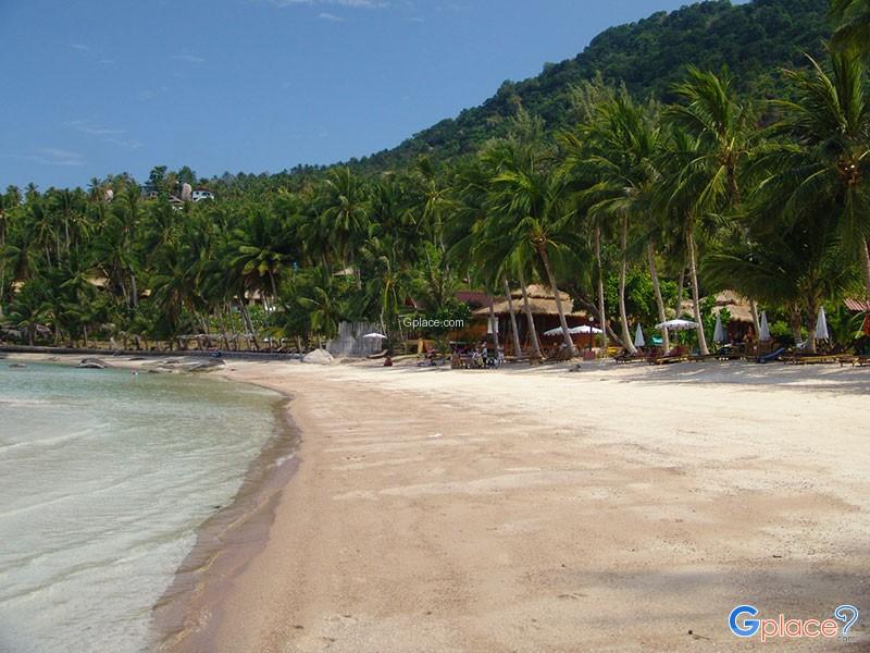 หาดทรายรี เกาะเต่า