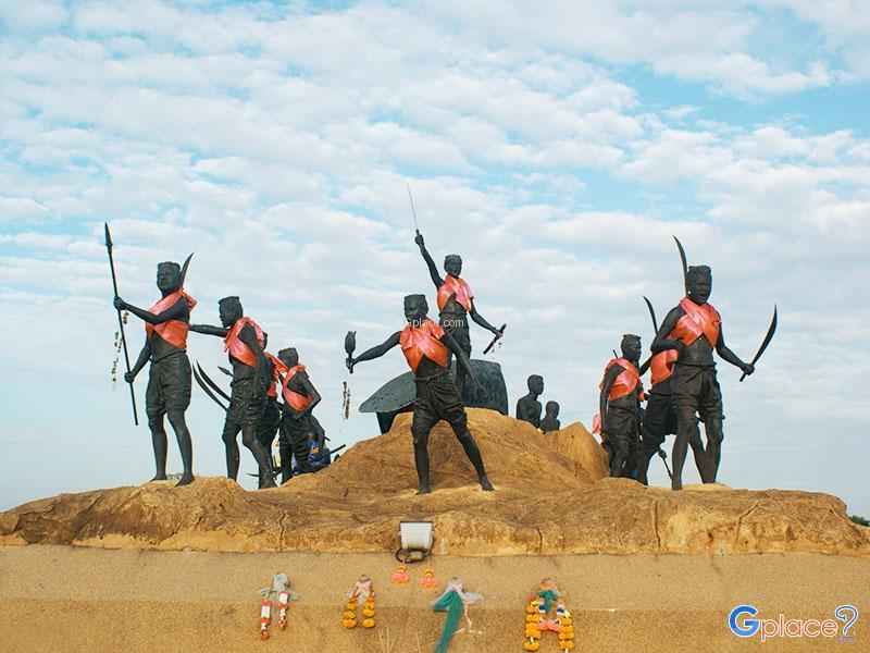 田野青铜英雄纪念碑