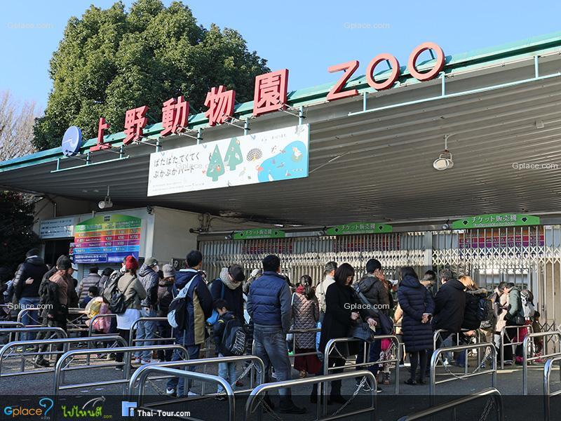 สวนสัตว์อุเอะโนะ Ueno Zoo
