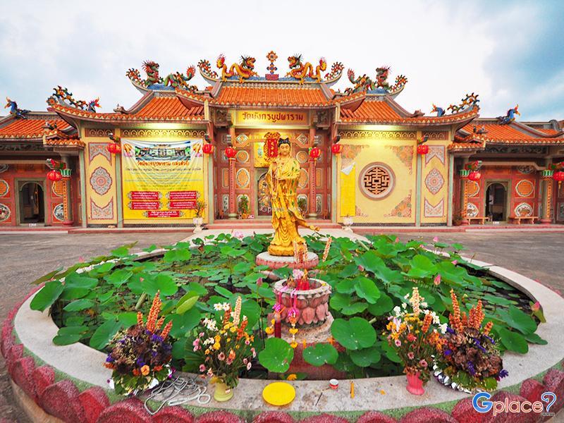 Bupparam Dragon寺(Bupparam Dragon temple)