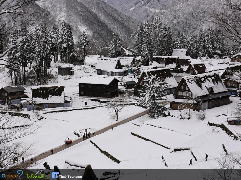 หมู่บ้านไอโนคุระ Ainokura Guchi Village