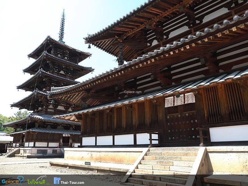 วัดโฮริวจิ Horyuji Temple