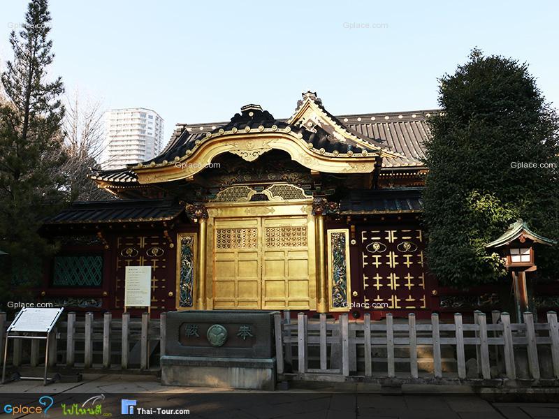 ศาลเจ้าโทโชกุ Ueno Toshogu Jinja