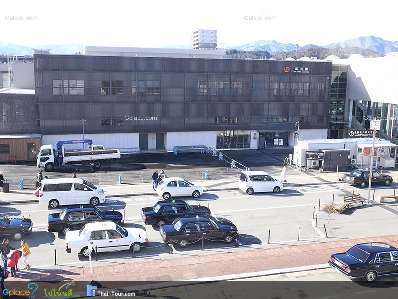 สถานีทาคายาม่า Takayama JR Station