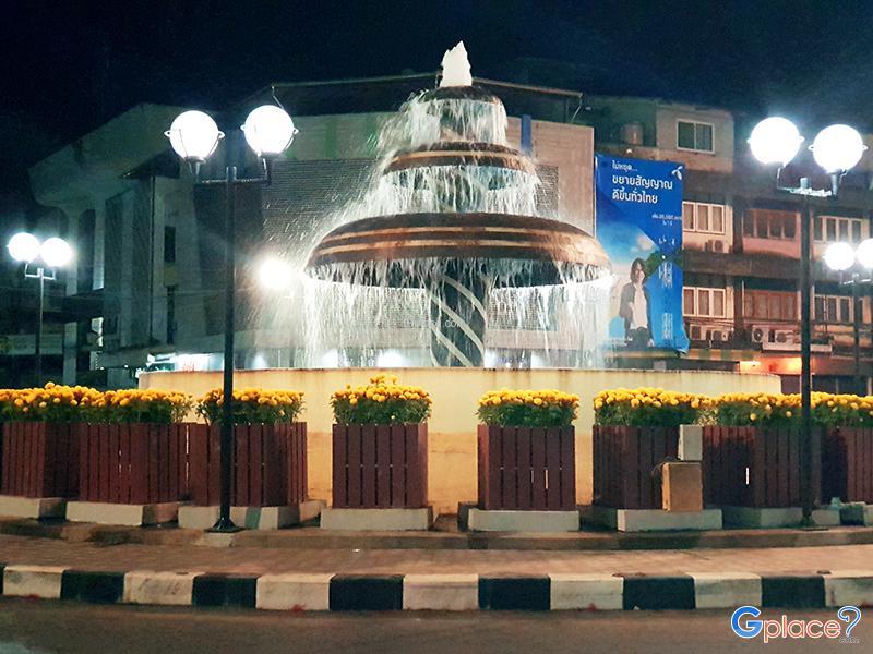 วงเวียนตลาดน้ำพุ จันทบุรี