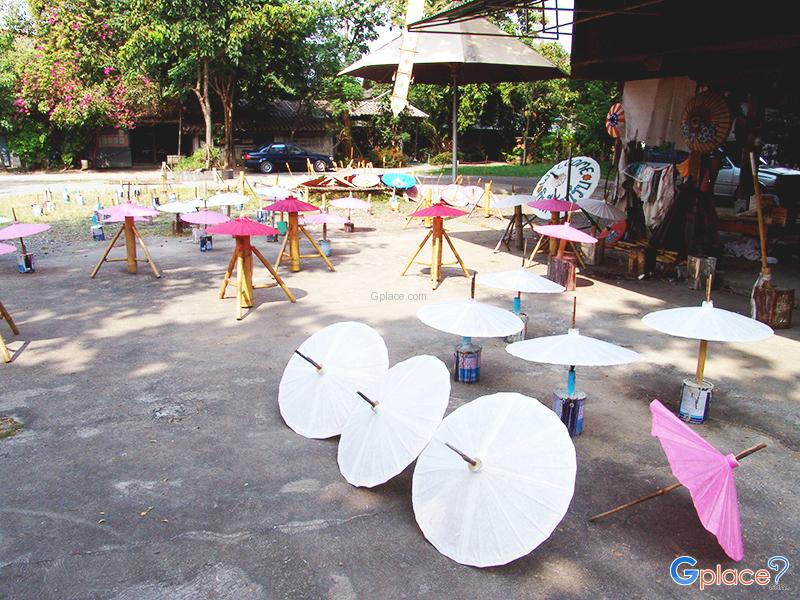 Bo Sang Umbrella Parasol Village