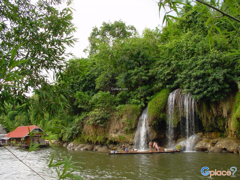 กาญจนบุรี เมื่อยามฝนพรำ