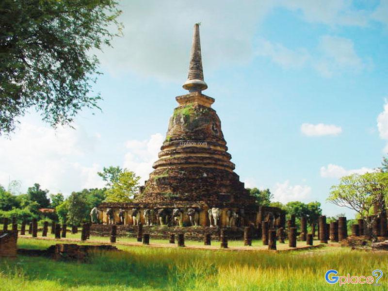 Wat Chang Lom Sukhothai