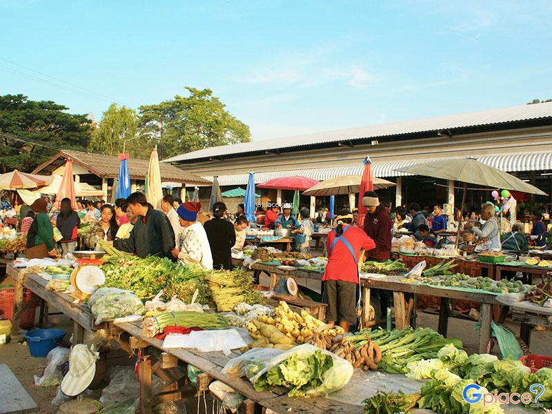 Morning Fresh Market Khongjiam