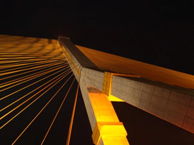 สะพานพระราม 8 และสวนหลวงพระราม 8