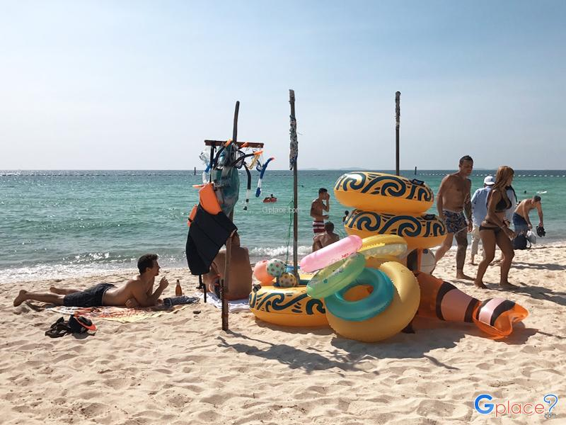 泰国中部天堂岛海湾
