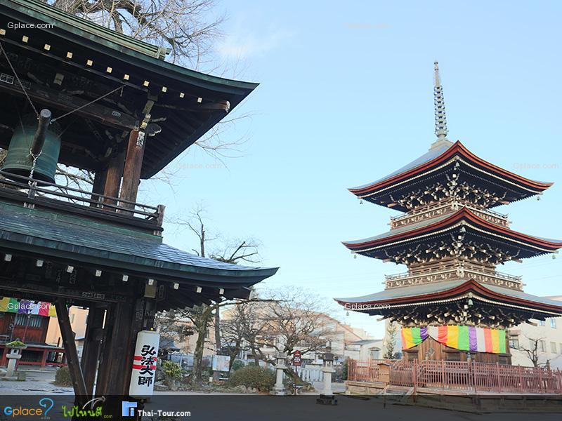 วัดฮิดะโคคุบุนจิ Hidakokubunji Temple