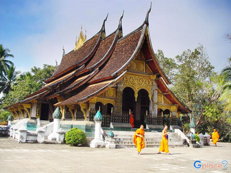 Xieng Thong Temple  Luang Prabang