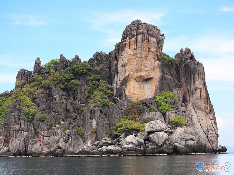Ngam Yai Island岛和Ngam Noi Island岛