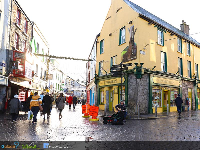 Highlighted Shopping Streets of Ireland