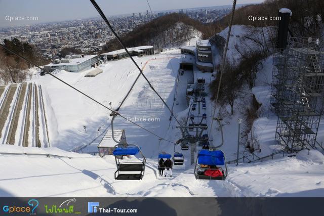 ลานแข่งขันสกีจั๊ม โอคุรายามา