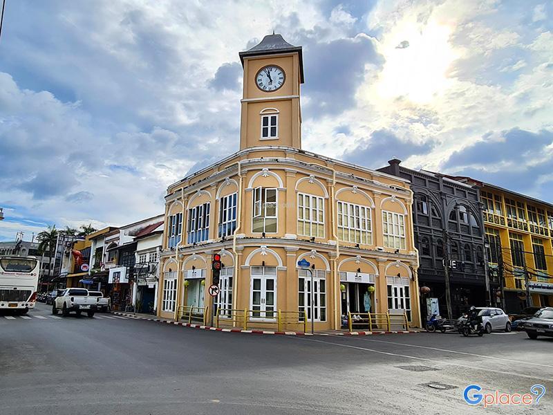 Antique Buildings Phuket