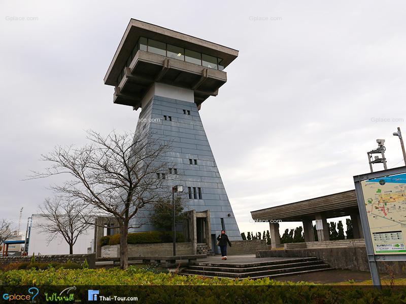 จุดชมวิวท่าเรือ โทยะมะ Toyama Port Observatory