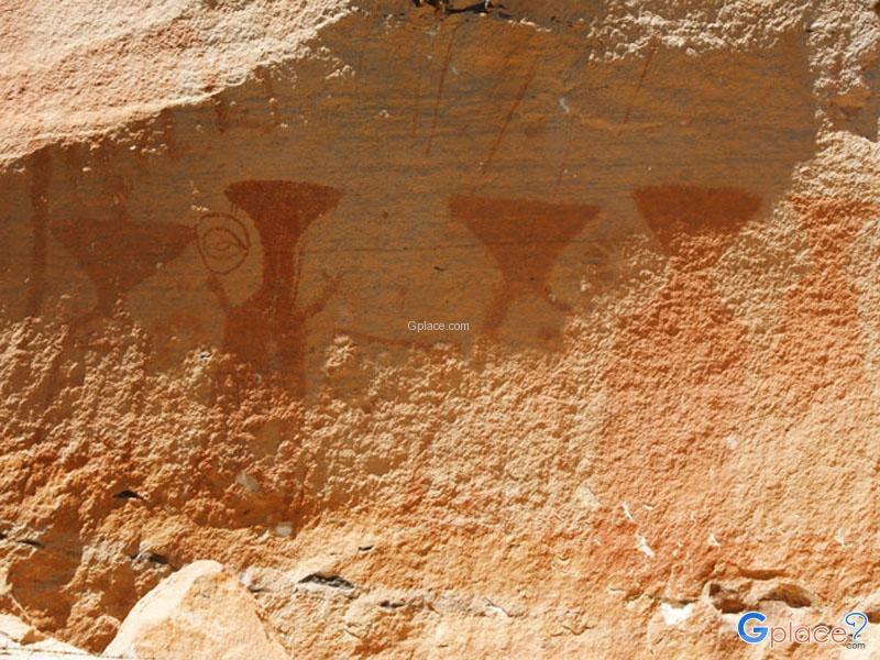ภาพเขียนสีโบราณ ผาแต้ม