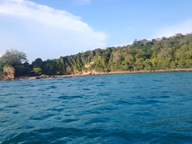 เกาะกรวย เกาะขามและเกาะปลาตีน