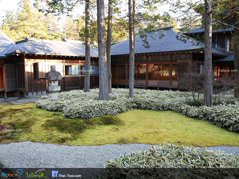 บ้านพักราชวงศ์ทาโมซาว่า Tamozawa Imperial Villa Memorial Park
