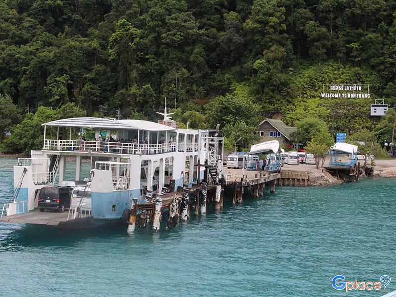ท่าเรือเฟอร์รี่เกาะช้าง